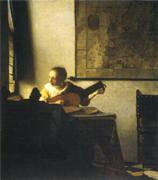 1663-1665年頃リュートを調弦する女*45 8.9x.jpg