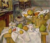 1888-90年セザンヌ 台所のテーブル(篭の静物).jpg