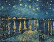 1888年フィンセント・ファン・ゴッホ「星降る夜」.jpg