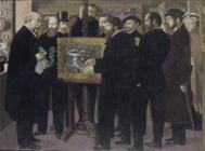 1900年モーリス・ドニ「セザンヌ礼賛」.jpg