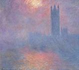 1904年クロード・モネ「国会議事堂、霧の中に差す陽光」.jpg