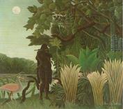 1907年ンリ・ルソー「蛇使いの女」45.jpg