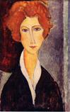 Ⅳ女の肖像 (通称-マリー.ローランサン)ポストカード*45 8.9x.jpg
