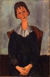 Ⅳ少女の肖像(ユゲット) 1918年アサヒビール㈱*45 8.9x.jpg