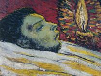 サントリー 1901年「カザジュマスの死」 油彩 P 45.jpg