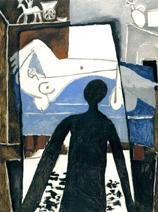 サントリー 1953年「影」油彩 P 45.jpg