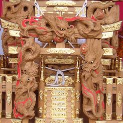 新井熊野神社 2尺3寸 鳥居と龍 70 P1080587.jpg