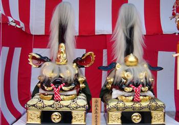 新井熊野神社獅子頭 作者不詳 70 P1080579.jpg