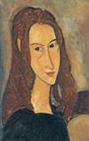 Ⅳ「赤毛の若い娘(ジャンヌ・エビュテルヌ)」1918年油彩・カンヴァス・個人蔵*45 8.9x.jpg