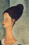 Ⅳジャンヌ・エビュテルヌ 1917年 個人蔵チケットの絵*45 8.9x.jpg