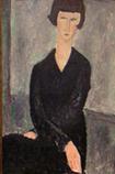 Ⅳ黒いドレスの女 1918年*45 8.9x.jpg
