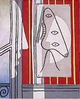 サントリー 1928年人物と横顔 油彩 45 .jpg